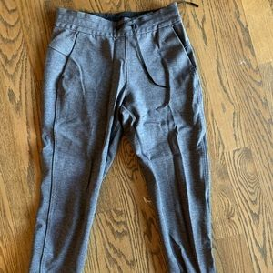Gray lululemon women's joggers